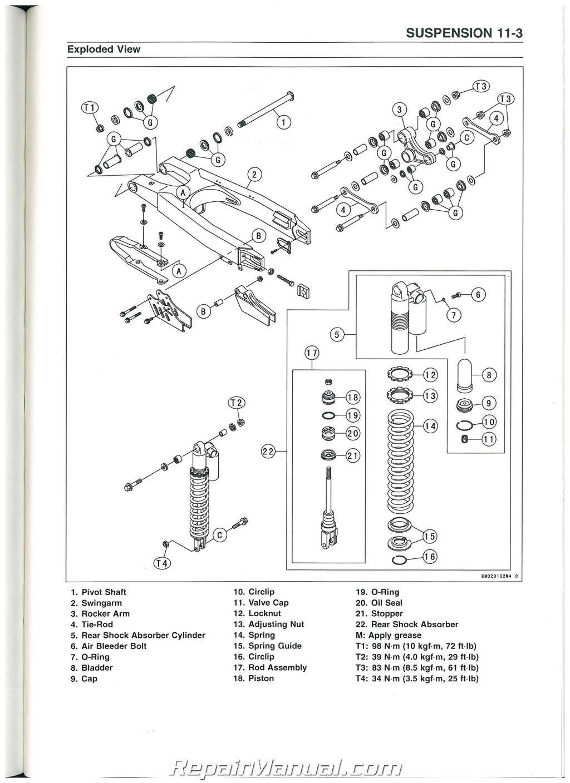 hight resolution of kawasaki kx250f wiring diagram