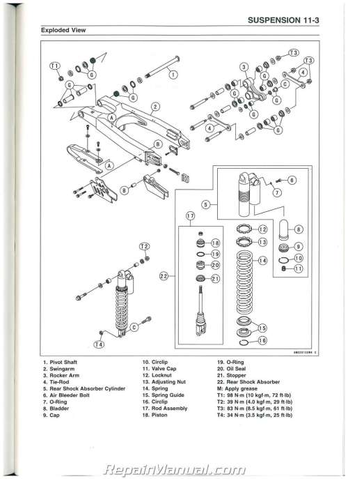 small resolution of kawasaki kx250f wiring diagram