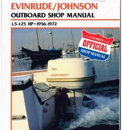 clymer evinrude johnson 1 5 125 hp 1956 1972 outboard boat engine service manual [ 1024 x 1325 Pixel ]