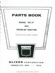 Oliver & Cockshutt G / T Series Farm Tractor Repair Manual