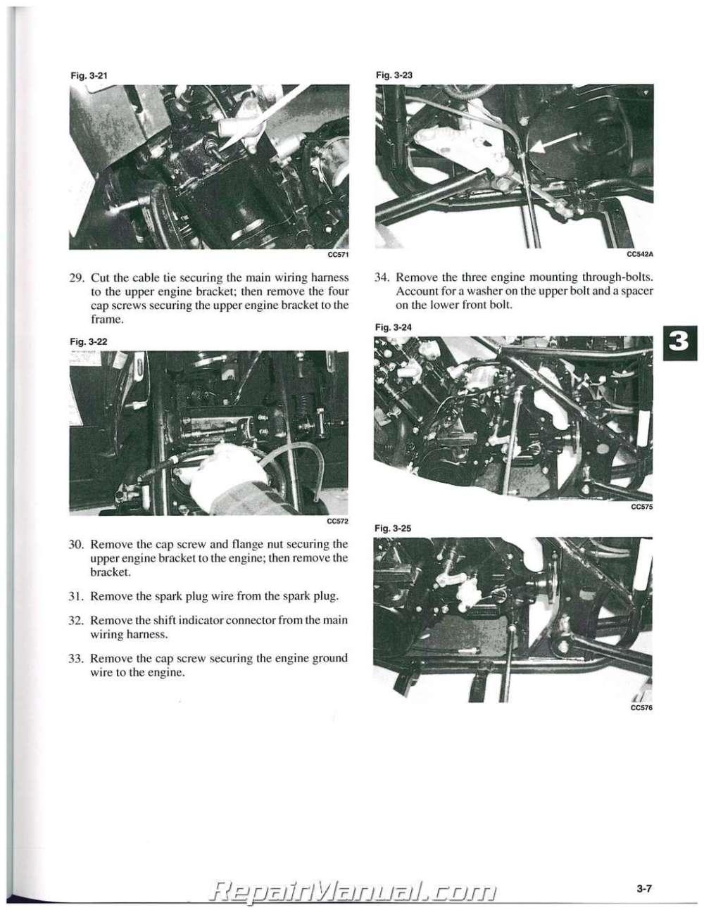 medium resolution of arctic cat snowmobile repair manuals