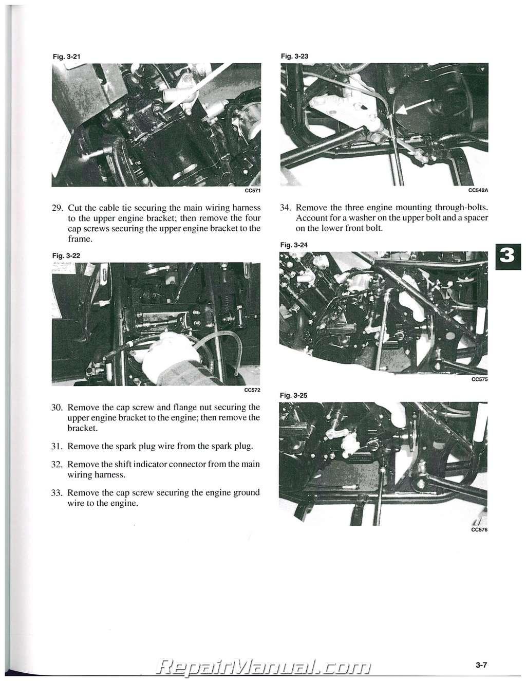 hight resolution of arctic cat snowmobile repair manuals