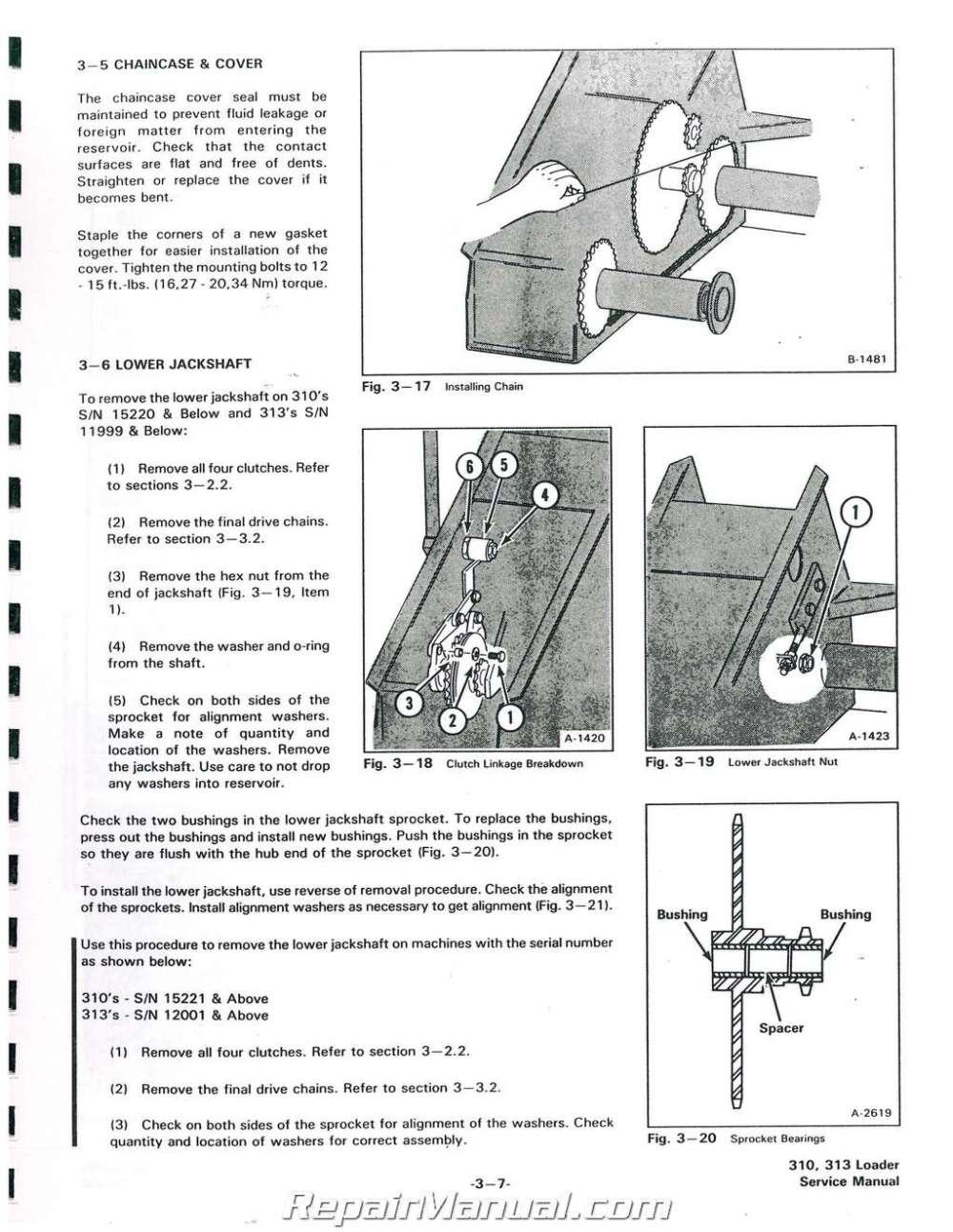 medium resolution of bobcat 310 313 371 service manualbobcat 310 wiring schematic 3