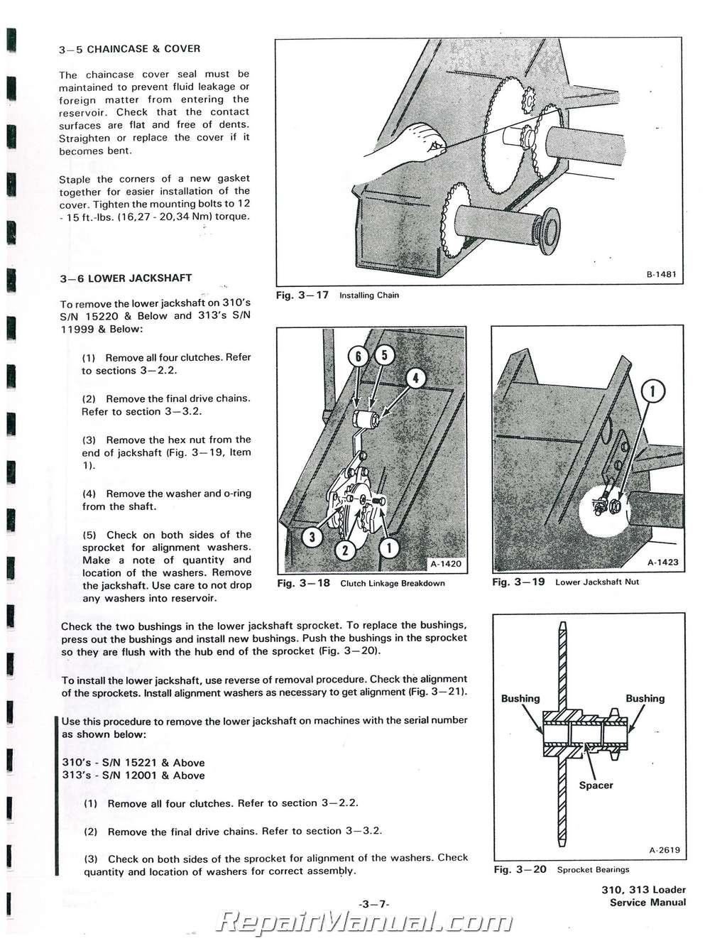 hight resolution of bobcat 310 313 371 service manualbobcat 310 wiring schematic 3