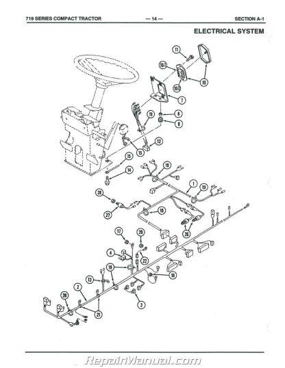 Cub Cadet 7000 Series Compact Tractor Parts Manual Form