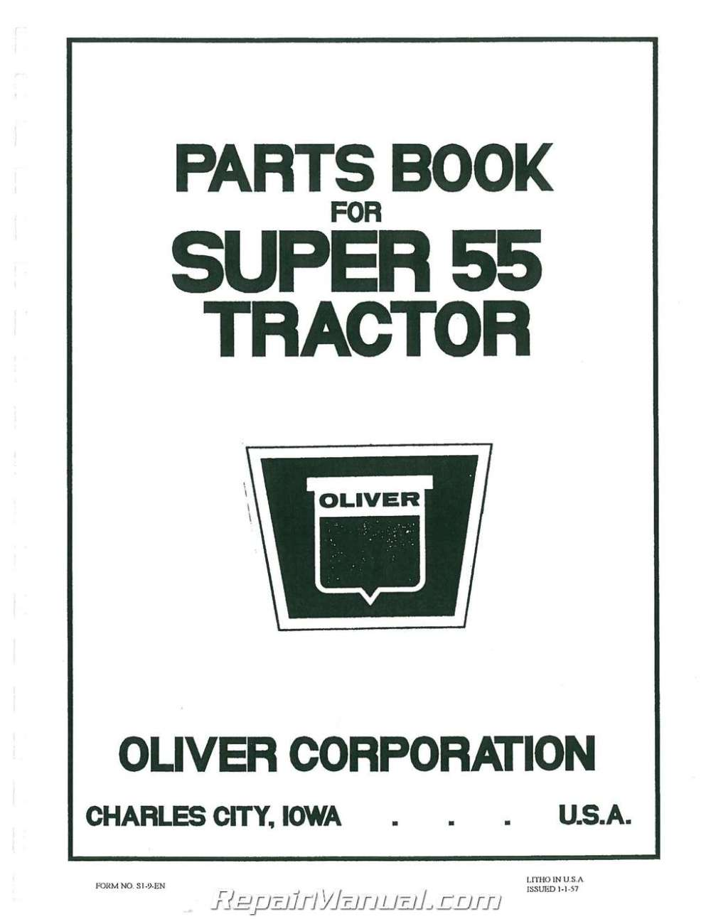 medium resolution of oliver super 55 wiring diagram