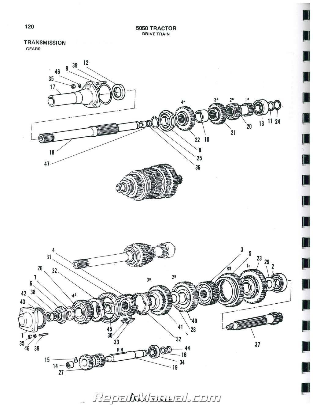 Allis Chalmers 5050 Parts Manual