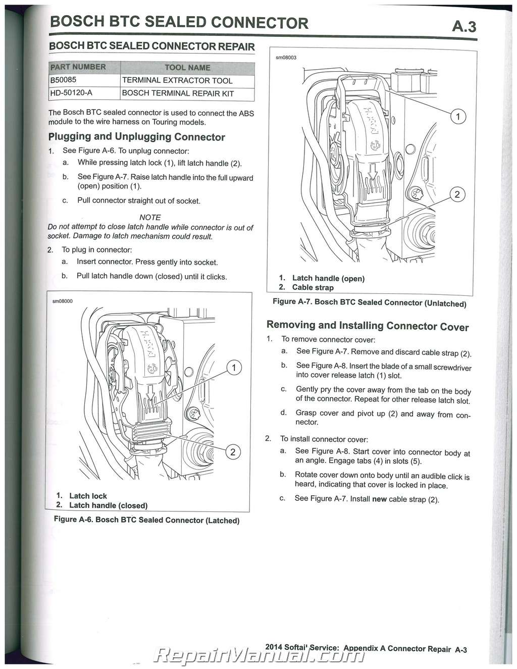 hight resolution of harley davidson softail owners manuals mybikemanuals
