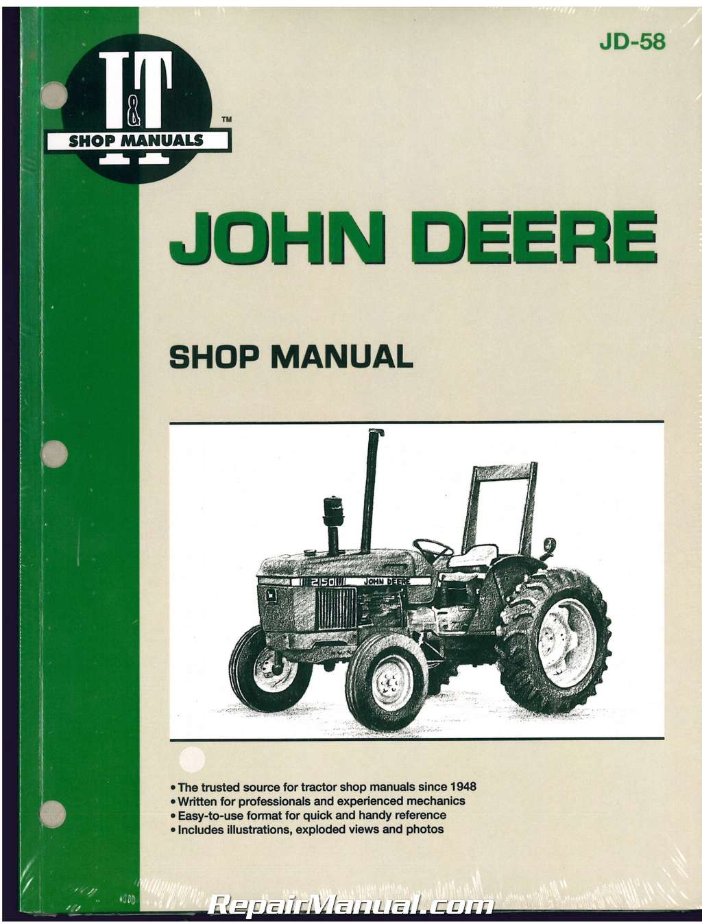 hight resolution of john deere 2150 2555 tractor workshop manual john deere wiring harness diagram john deere 2150 wiring diagram