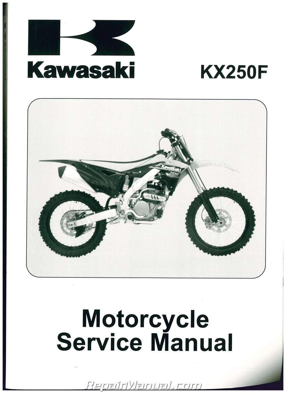 2013-2014 Kawasaki KX250F Service Manual