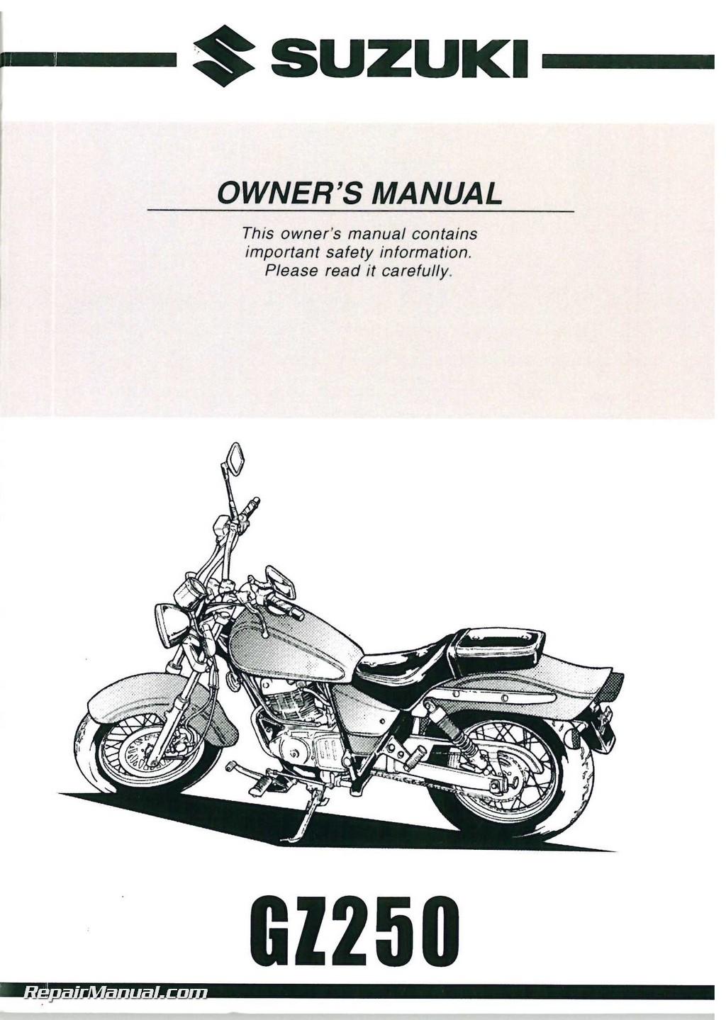 2002 suzuki gsx1400 motorcycle service manual