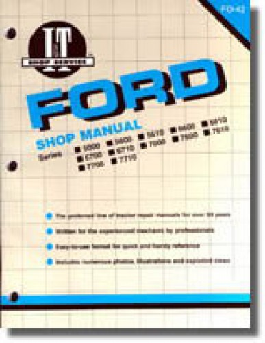 Ford 1210 Tractor Wiring Diagram Used Ford New Holland 5000 5600 5610 6600 6610 6700 6710