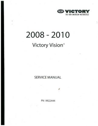 2007 Victory Hammer and Jackpot Service Manual