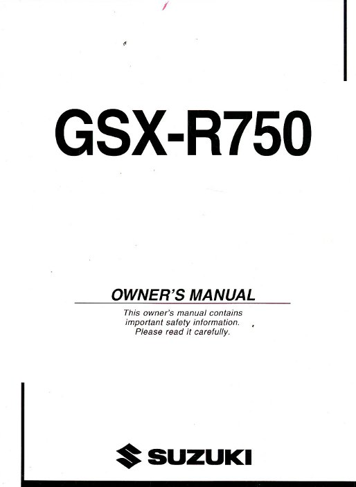 2010 Suzuki RM-Z450L0 Motorcycle Owners Service Manual
