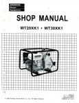 Honda WX10 Water Pump Shop Manual