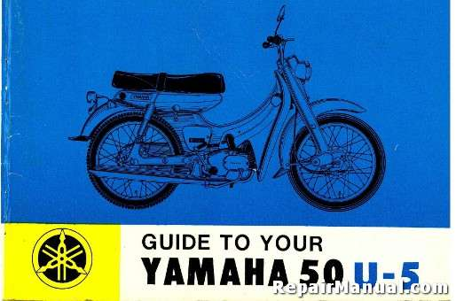1965 Yamaha 50 U5 Mate Riders Manual