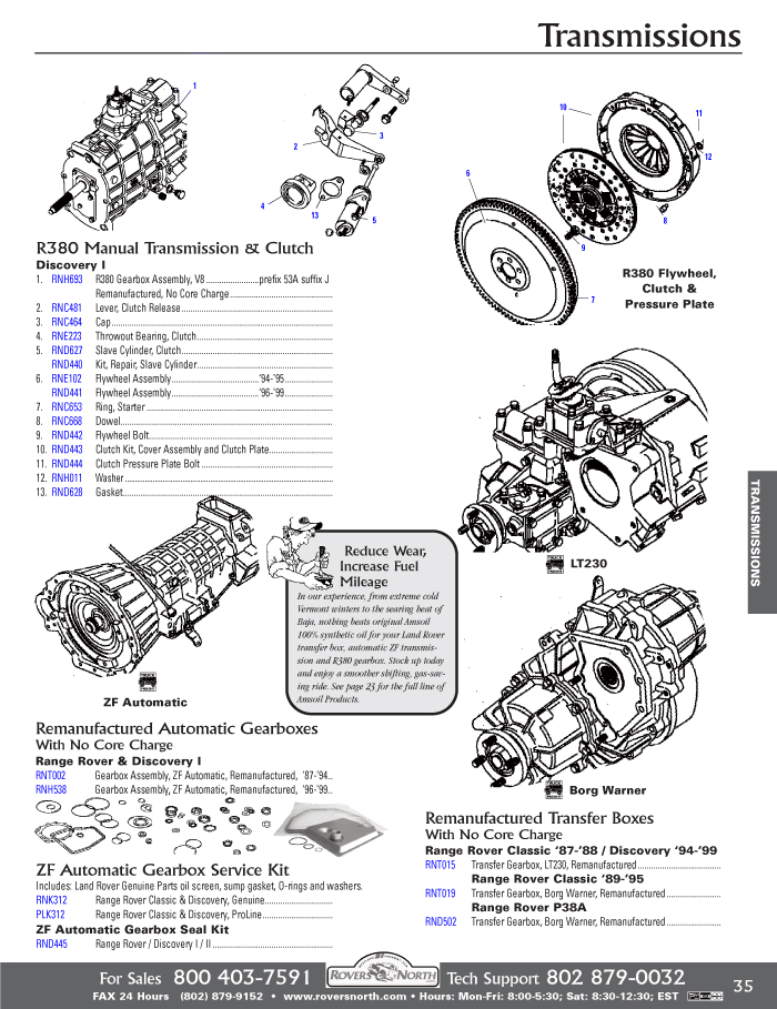 Download Land rover discovery 1995 Electrical