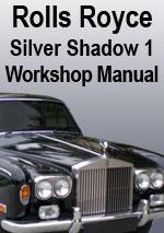 Rolls Royce Silver Shadow, Corniche and Camargue Workshop
