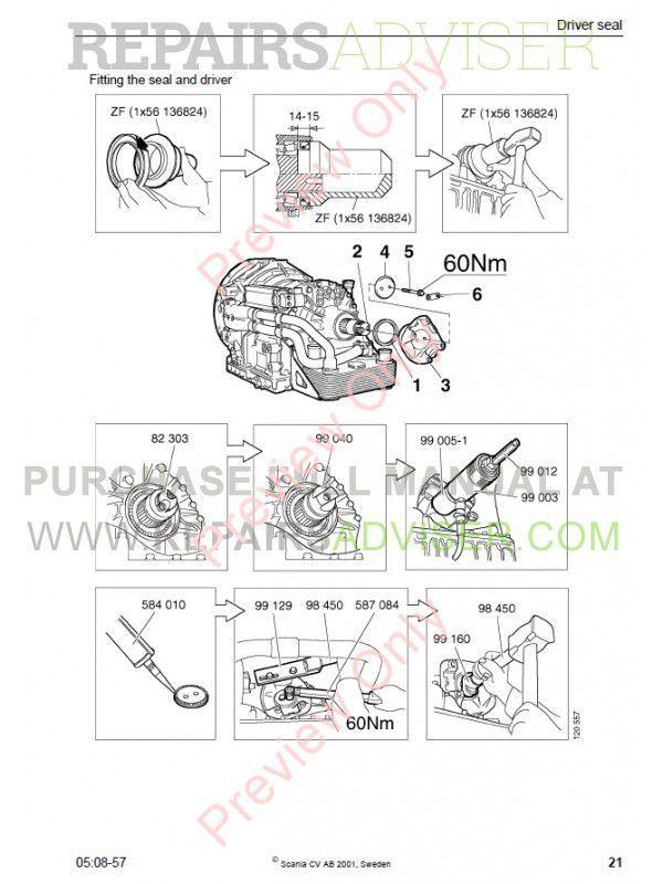 ZF 4/5HP502/592/602 C Repair Manual PDF Download