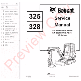 Download OEM Bobcat Parts, Service & Repair Publications
