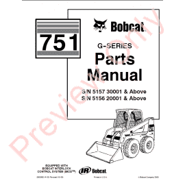 Bobcat Skid Steer Loaders 730, 731, 732 Service Manual PDF