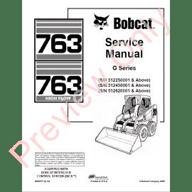 Download Bobcat Parts, Service & Repair Publications in PDF
