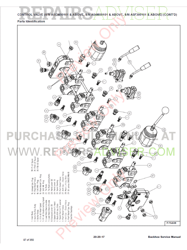 Bobcat Backhoe 406, 506, 607, 709, 709FDS, 8811, MO6 PDF
