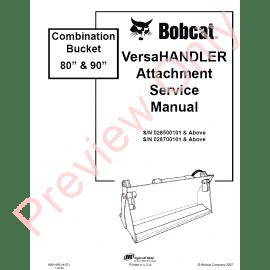 Bobcat 863 G-Series Skid Steer Loader Parts Manual PDF