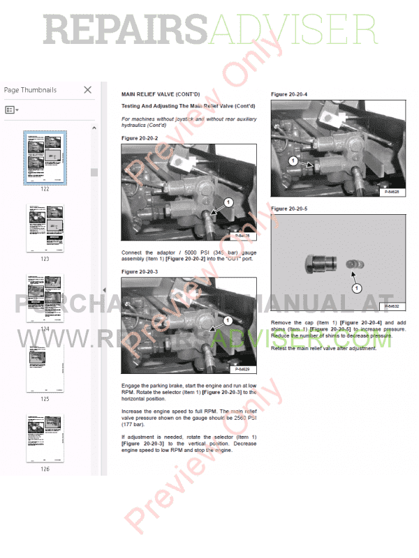 Bobcat Compact Tractor CT335 Service Manual PDF Download