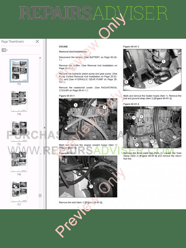 Bobcat Ingersoll Rand Excavator ZX75, ZX125 Manual PDF