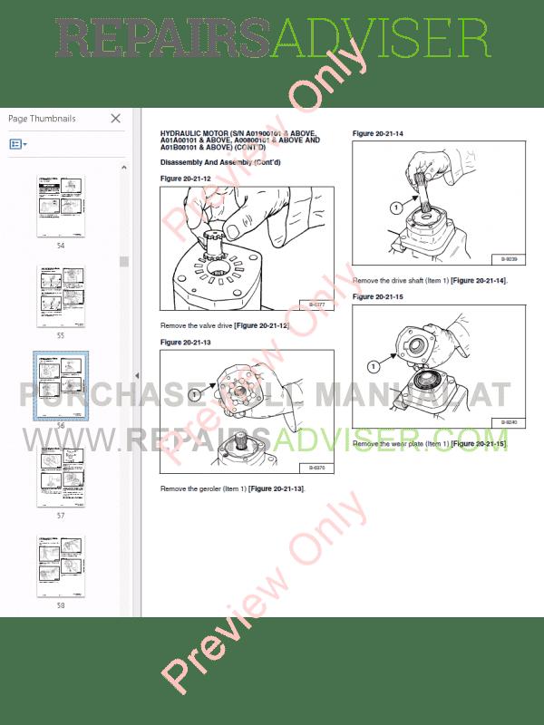 Bobcat Rotary Cutter 60 Inch, 72 Inch, 90 Inch PDF Service