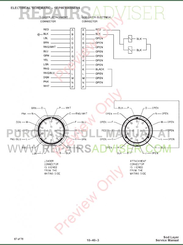 Bobcat Sod Layer PDF Service Manual Download