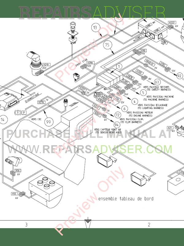 Bobcat Telescopic Handler T35120SL MP Service Manual PDF