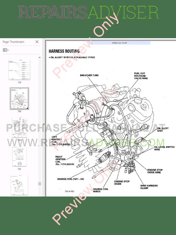 Bobcat Utility Vehicle 2200, 2200S, 2300 Service Manual