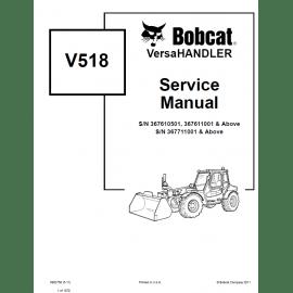 Bobcat VersaHandler V723 Service Manual PDF Download