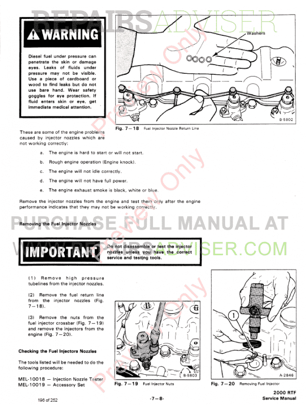 Bobcat Wheel Loader 2000 RTF Service Manual PDF Download