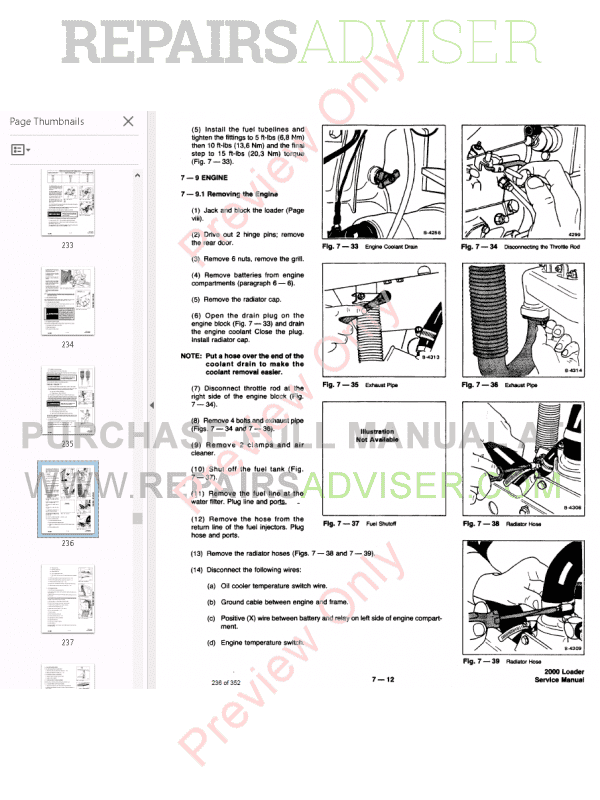Bobcat Wheel Loader 2000 Service Manual PDF Download