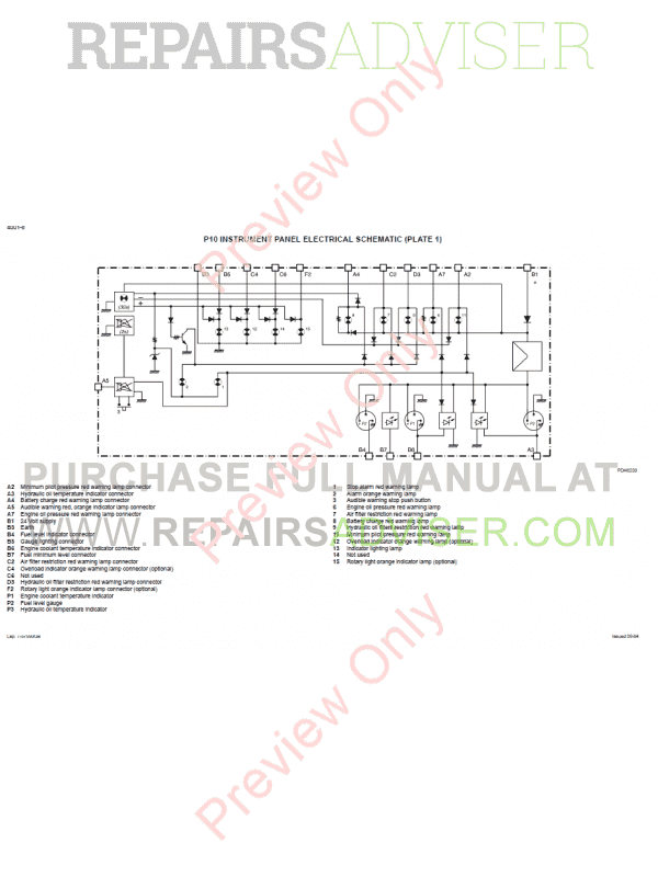 CASE 788 988 EXCAVATOR SERVICE REPAIR WORKSHOP MANUAL