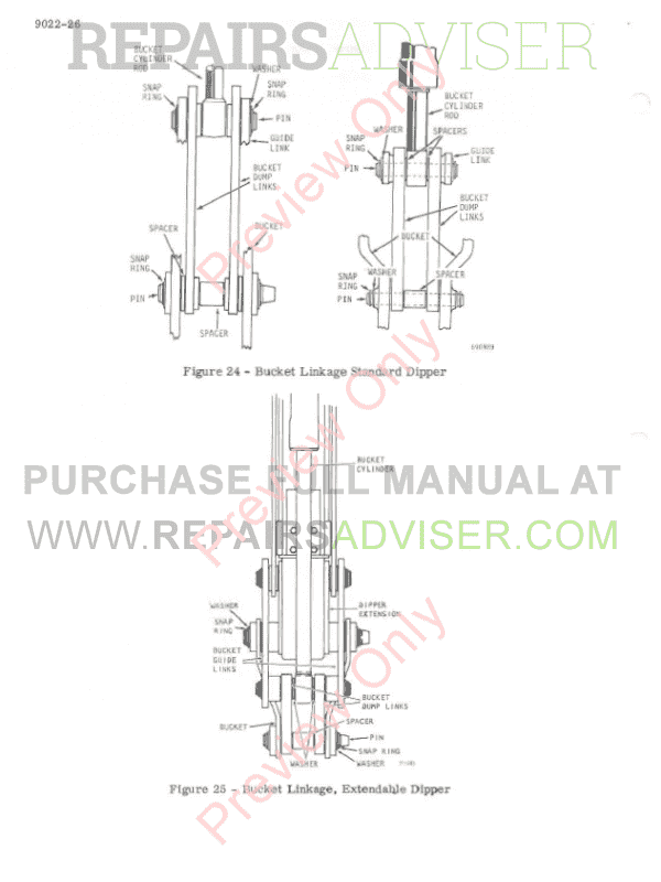 Case 450 Crawler Tractor Service Manual PDF Download