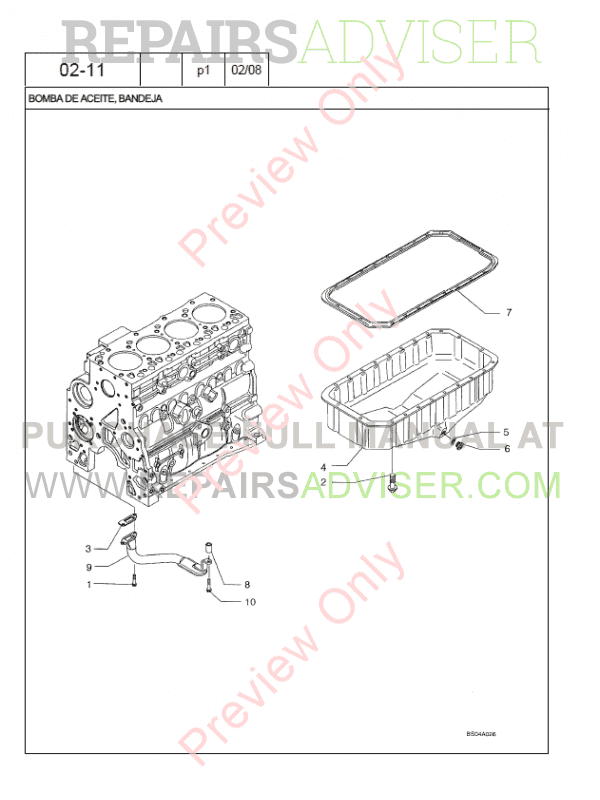 Case 580M Series 3 Loader Backhoe Parts Catalog PDF Download
