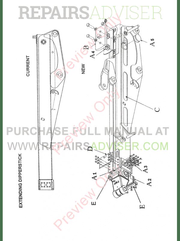 Case 595 SLE/LSP Backhoe Loaders Training Manual PDF Download