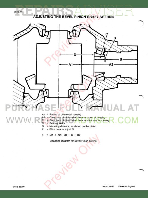 Case IH 856XL Workshop Manual PDF Download
