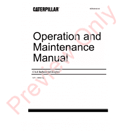 Caterpillar C-10, C-12 On Highway Engines PDF Manuals Download