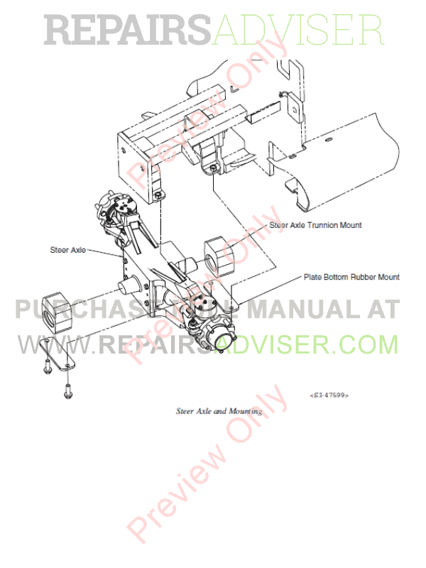 Clark Forklift GEX 20/25/30s/30/32 Service Manual PDF