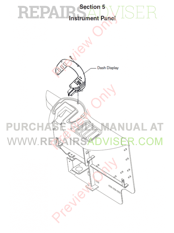 Clark Forklift TMX12-25, EPX16-20s Service Manual PDF