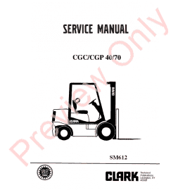 Clark Pallet truck PX 20 OEM Workshop Repair Manual PDF