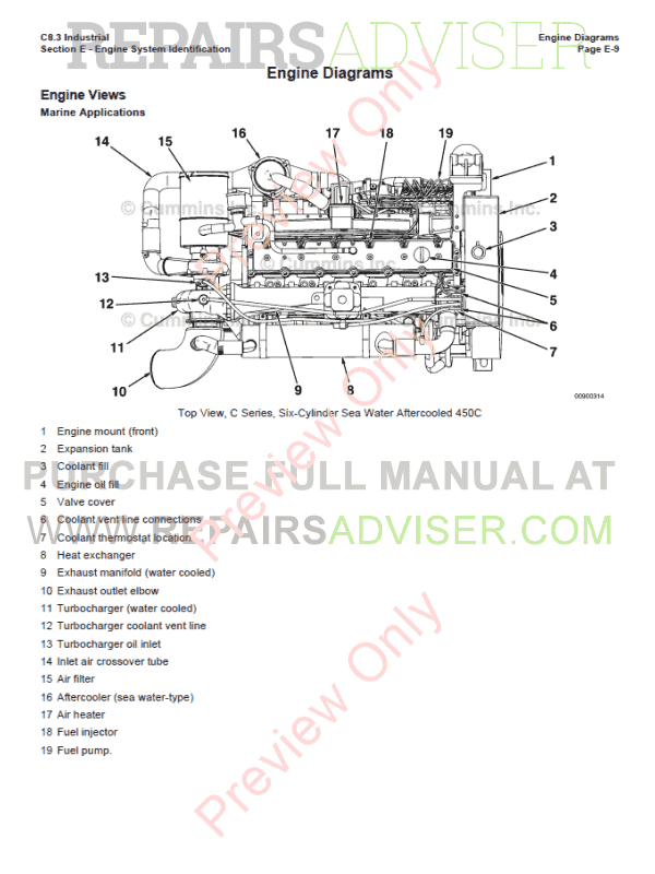 Cummins Commercial Marine and Industrial Engine C8.3 PDF