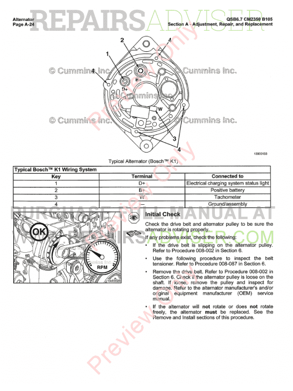 Cummins Engine QSB6.7 CM2350 B105 PDF Manual Download
