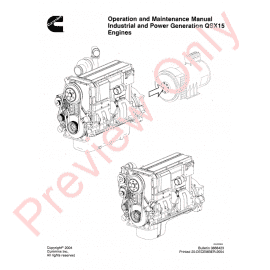 Cummins C Series Engines Workshop Manual PDF Download