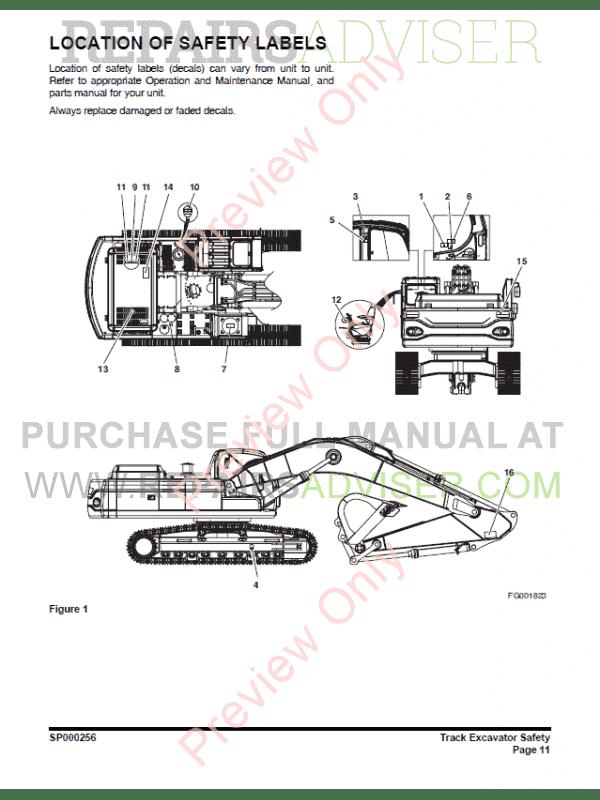 DAEWOO DX420LC Track Excavator Set of PDF Manuals Download